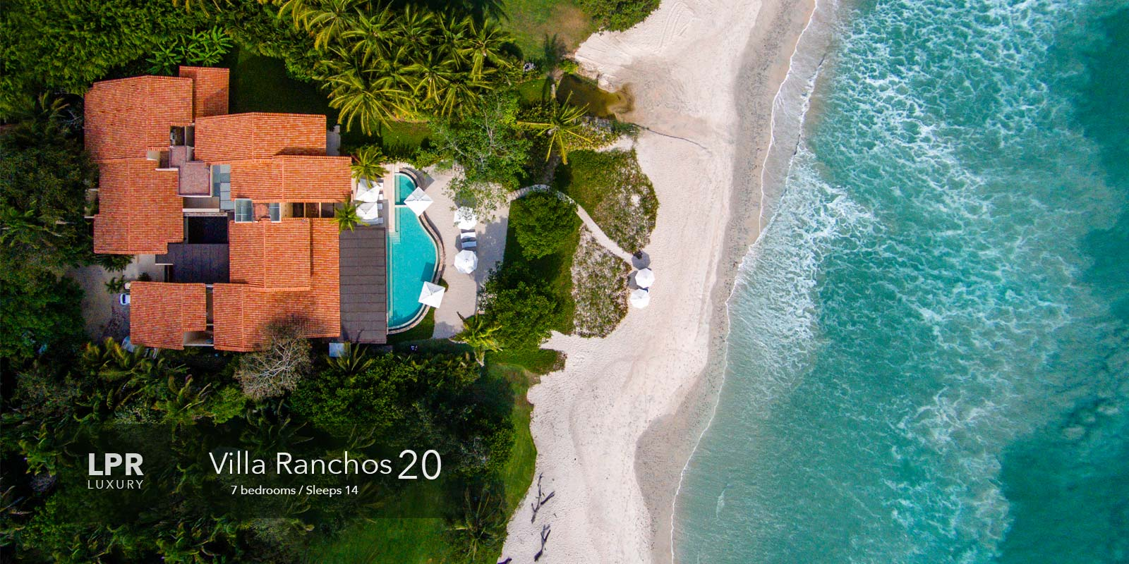 Villa Ranchos 20 - On the sweetest spot of beach at the Punta Mita Resort