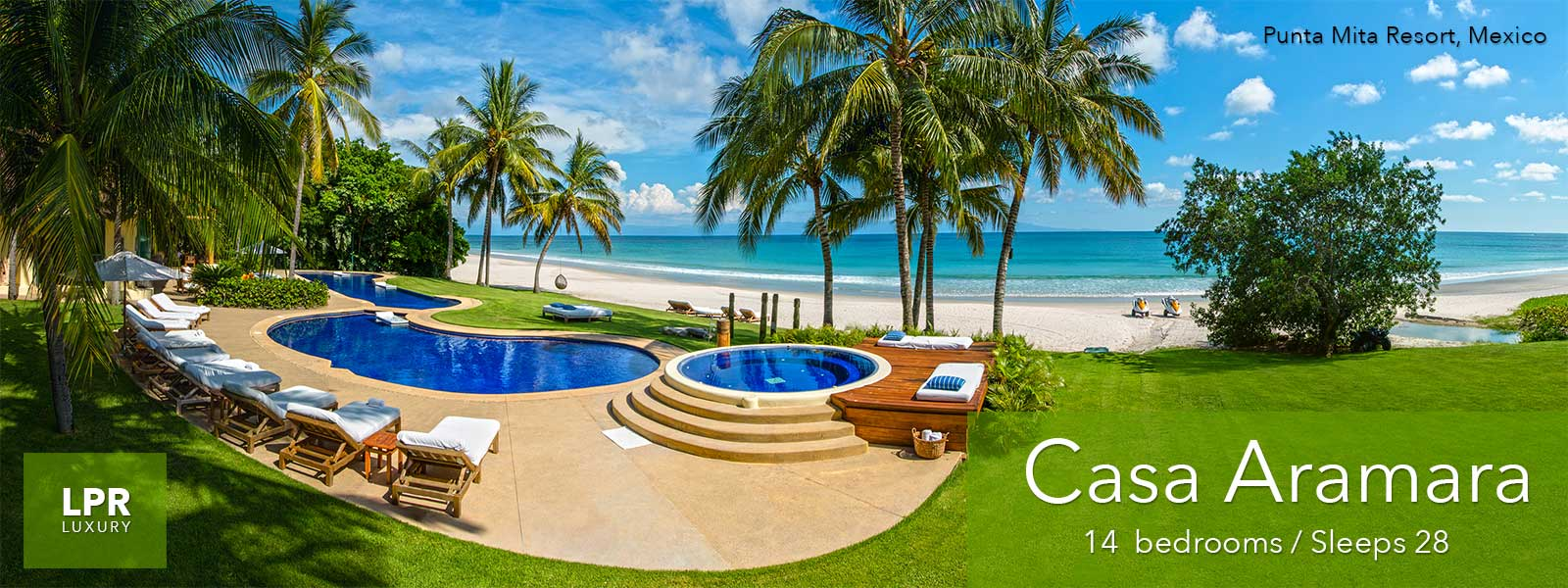 Casa Aramara Punta Mita Mexico - Ultra Luxury Vacation Villa at the Punta Mita Resort