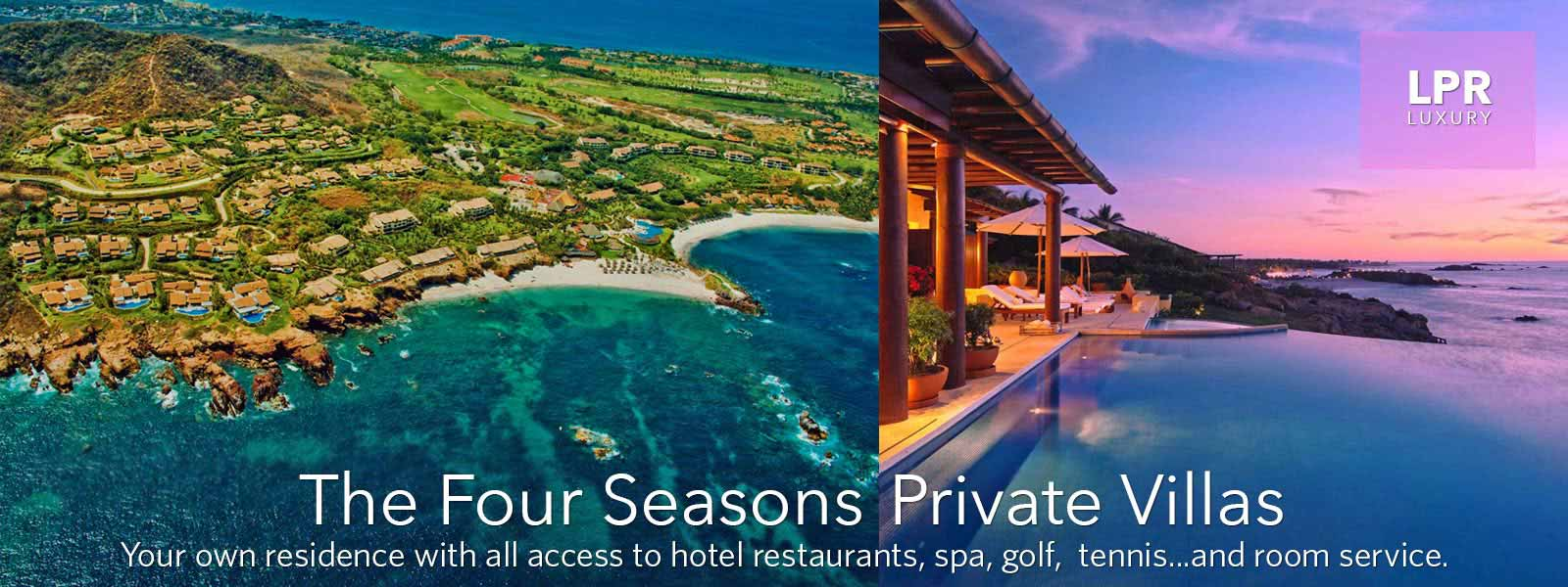 Four Seasons Punta Mita - The Four Seasons Private Villas - Luxury Punta Mita Real Estate and Vacation Villa Rentals