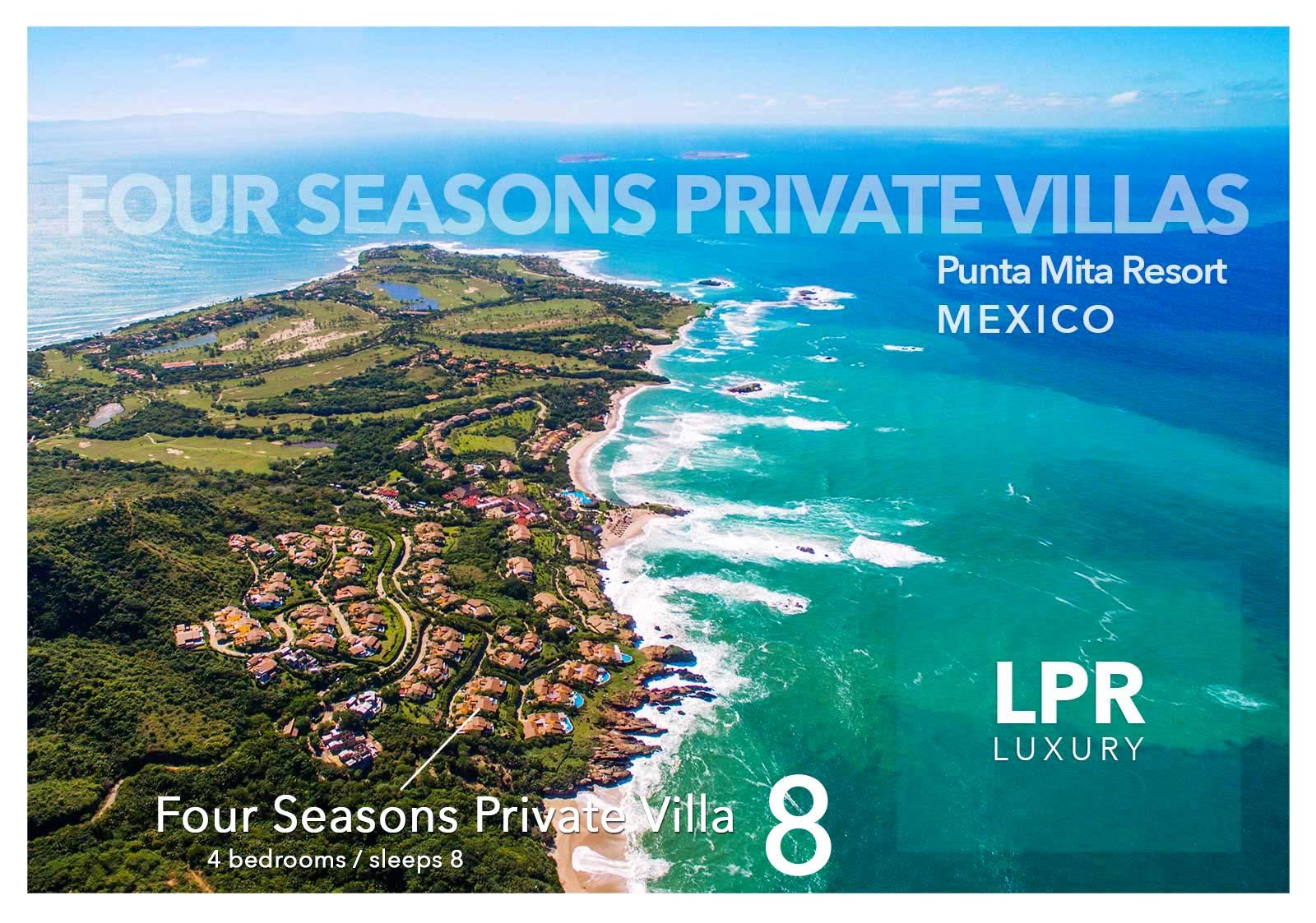 Four Seasons Private Villa 8 at the Punta Mita Resort, Riviera Nayarit, Mexico