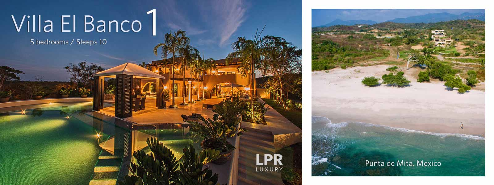 Villa El Banco 1 - Luxury Punta Mita Rentals and Real Estate - Vallarta | Nayarit, Mexico