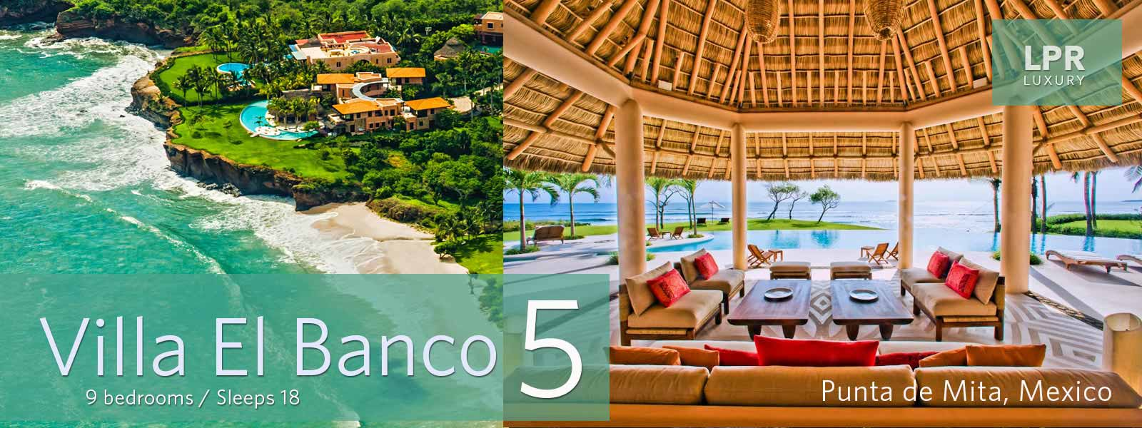 Villa El Banco 5 - Luxury Punta Mita Rentals and Real Estate - Vallarta | Nayarit, Mexico