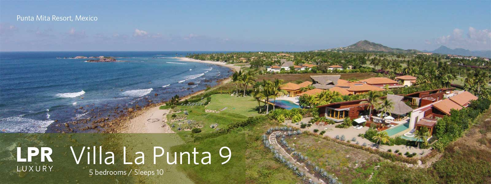 Villa la Punta 9 - La Punta Estates - Punta Mita Resort, Riviera Nayarit Mexico