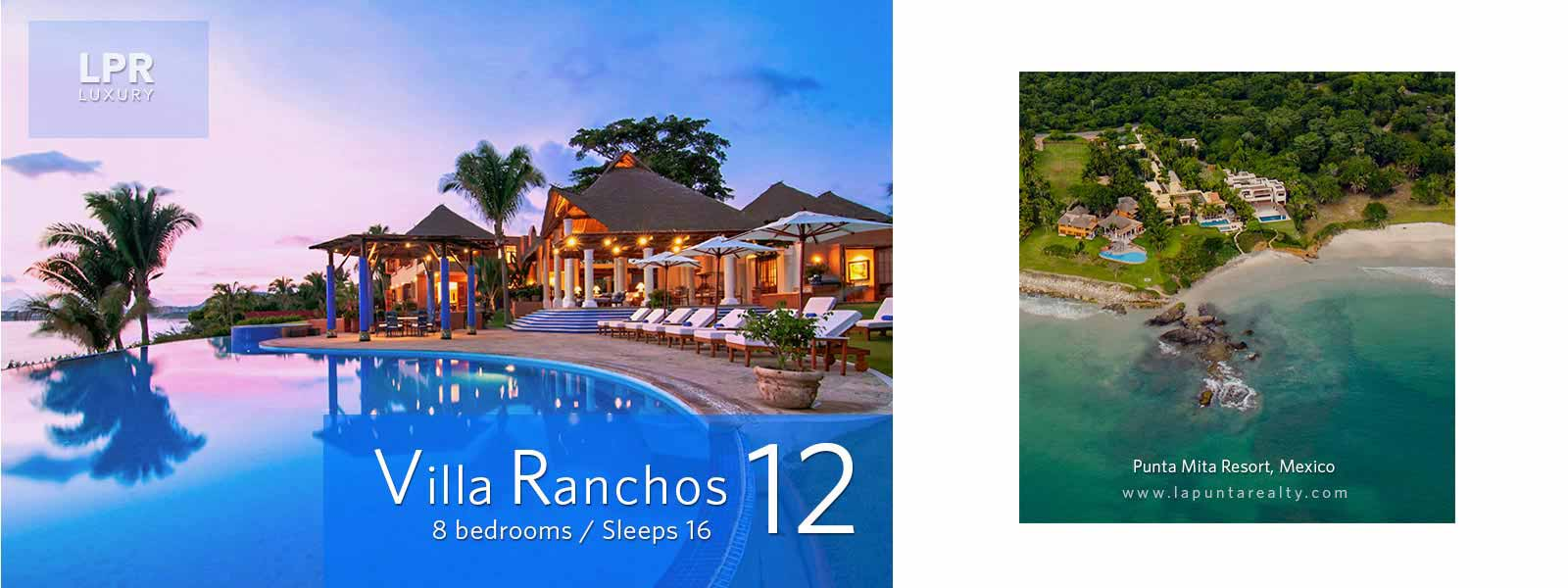 Villa Ranchos 12 - Luxury Punta Mita Real Estate and Vacation Villa Rentals