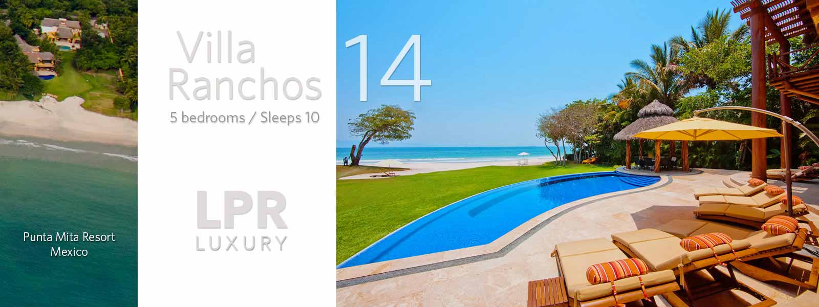 Villa Ranchos 14 - Luxury Punta Mita Real Estate and Vacation Villa Rentals