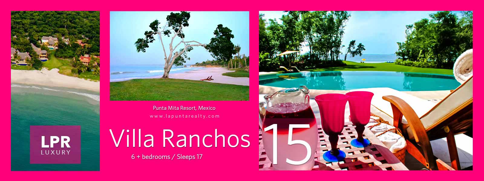 Villa Ranchos 15 - Luxury Punta Mita Rentals - Vacation Villas and Estates