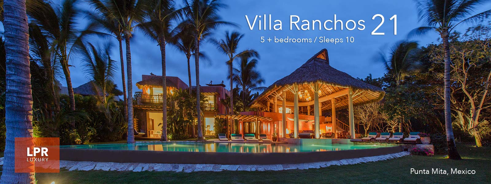 Villa Ranchos 21 - Ranchos Estates - Luxury Villas of the Punta Mita Resort, Mexico