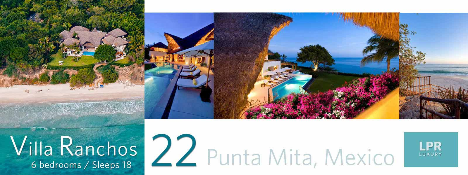 Villa Ranchos 22 - Luxury Punta Mita Rentals - Vacation Villas and Estates