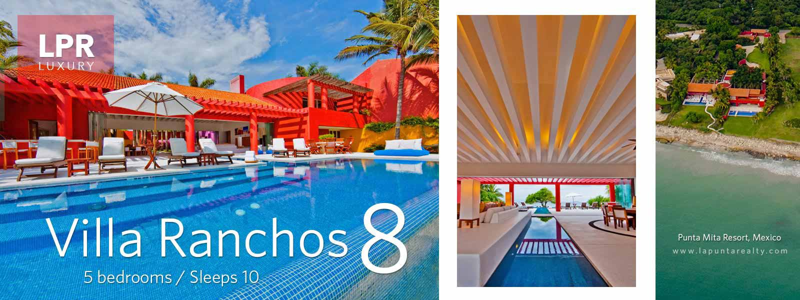 Villa Ranchos 8 - Luxury Punta Mita Rentals - Vacation Villas and Estates
