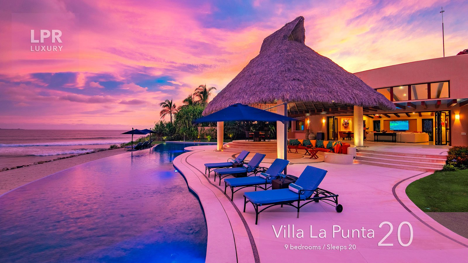 Villa La Punta 20 - Luxury Punta Mita Resort real estate and vacation rental villa - Destino