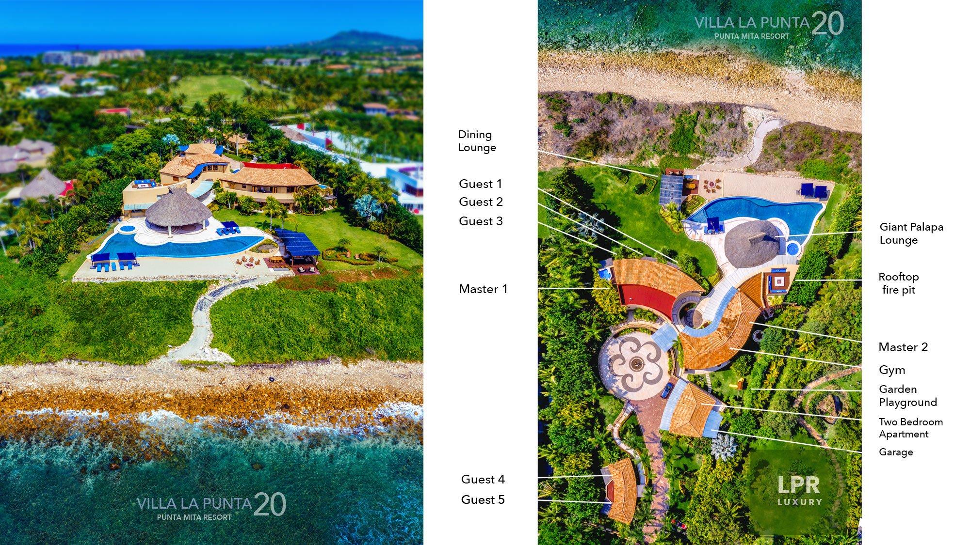 Villa La Punta 20 at the Punta Mita Resort, Riviera Nayarit, Mexico