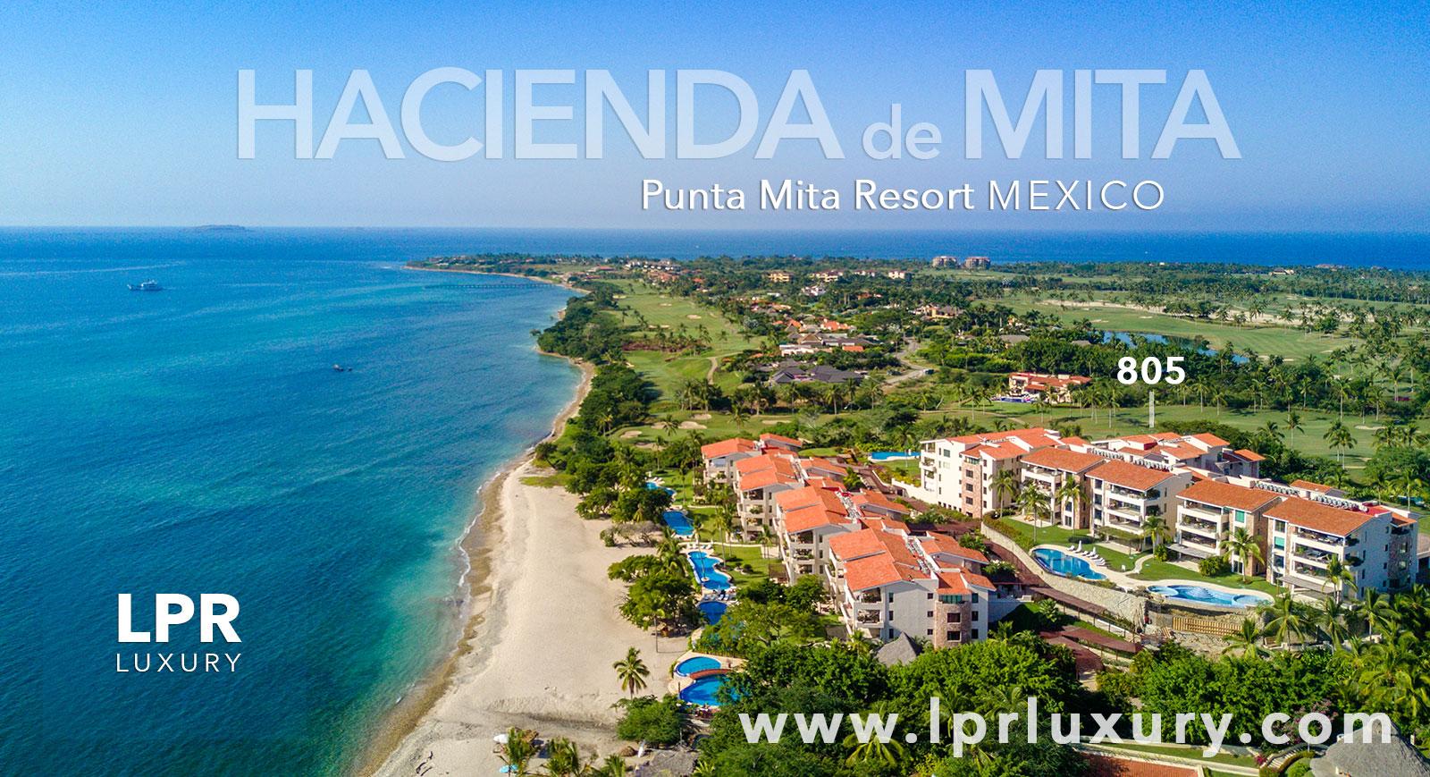 Hacienda de Mita 805 - Punta Mita Resort, Riviera Nayarit, Mexico