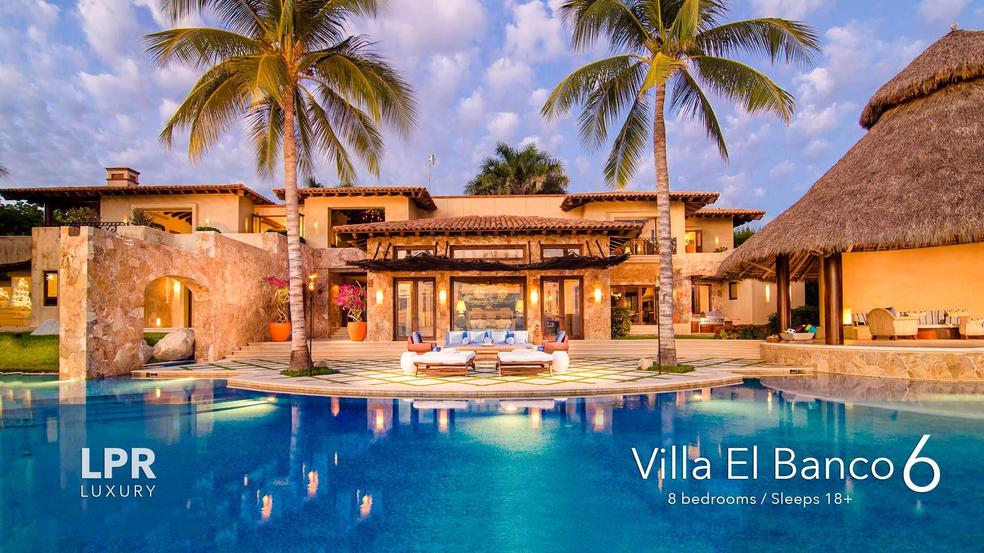 Villa El Banco 6 - Ultra Luxury vacation rental villa at the Susurros del Corazon - Auberge Resort, Punta de Mita, Riviera Nayarit, Mexico