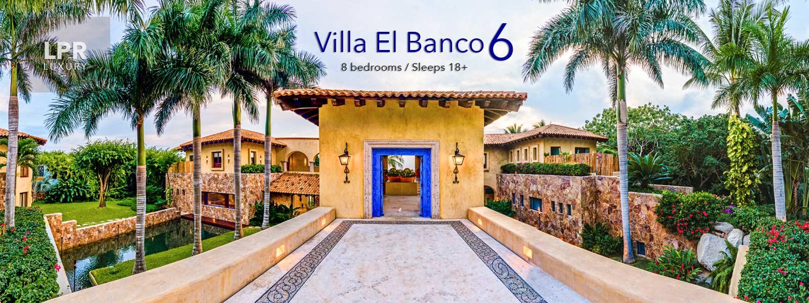 Villa El Banco 6 - Luxury Punta de Mita Real Estate and Vacation Rentals - Riviera Nayarit, Mexico