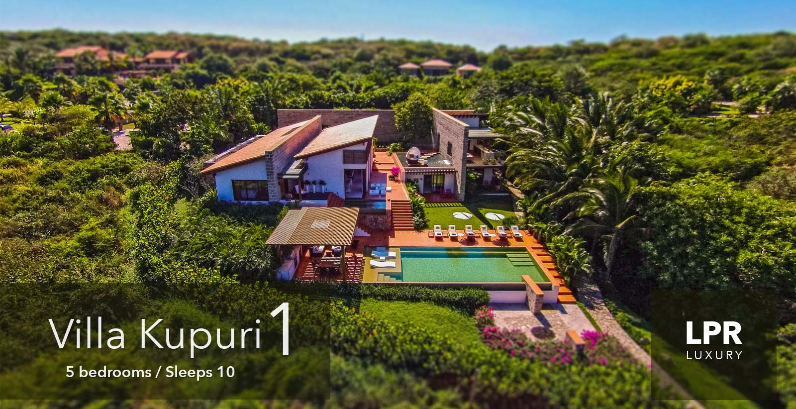 Villa Kupuri 1 - Modern luxury at the Punta Mita Resort, Riviera Nayarit, Mexico