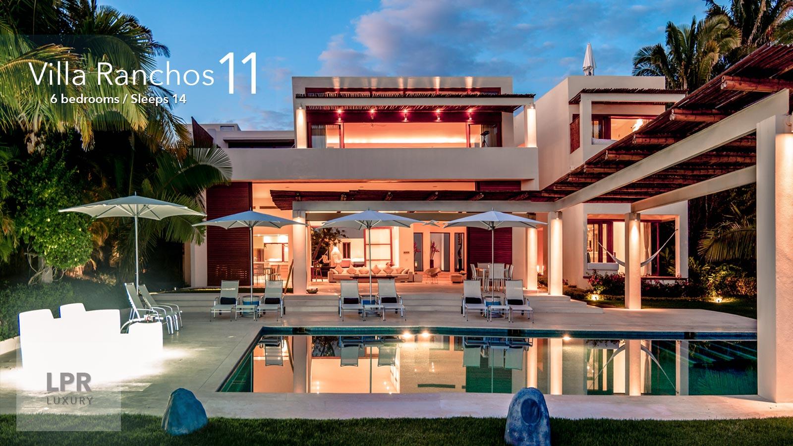 Villa Ranchos 11 - Luxury Vacation Rental Villa at the Punta Mita Resort, Riviera Nayarit, Mexico