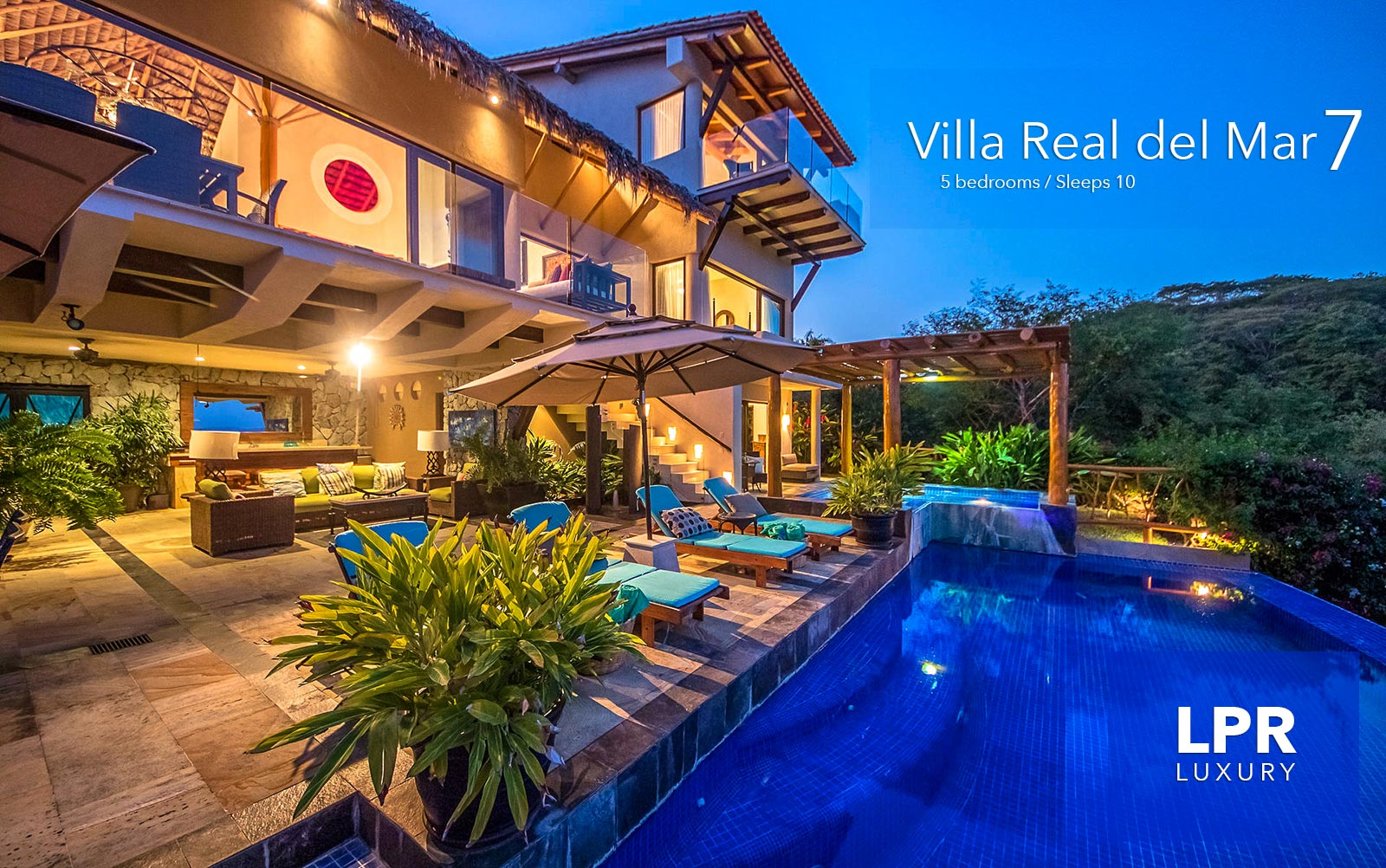 Villa Real del Mar 7 - Luxury vacation rental at Real del Mar, Punta de Mita, Riviera Nayarit, Mexico