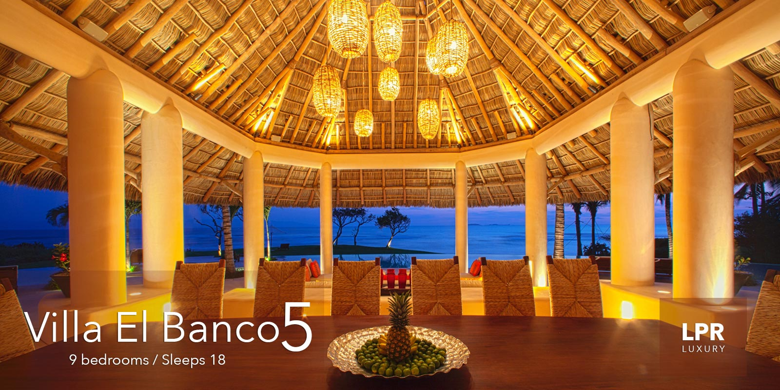 Villa El Banco 5 - Ultra Luxury Vacation Rental Villain Punta de Mita, Mexico