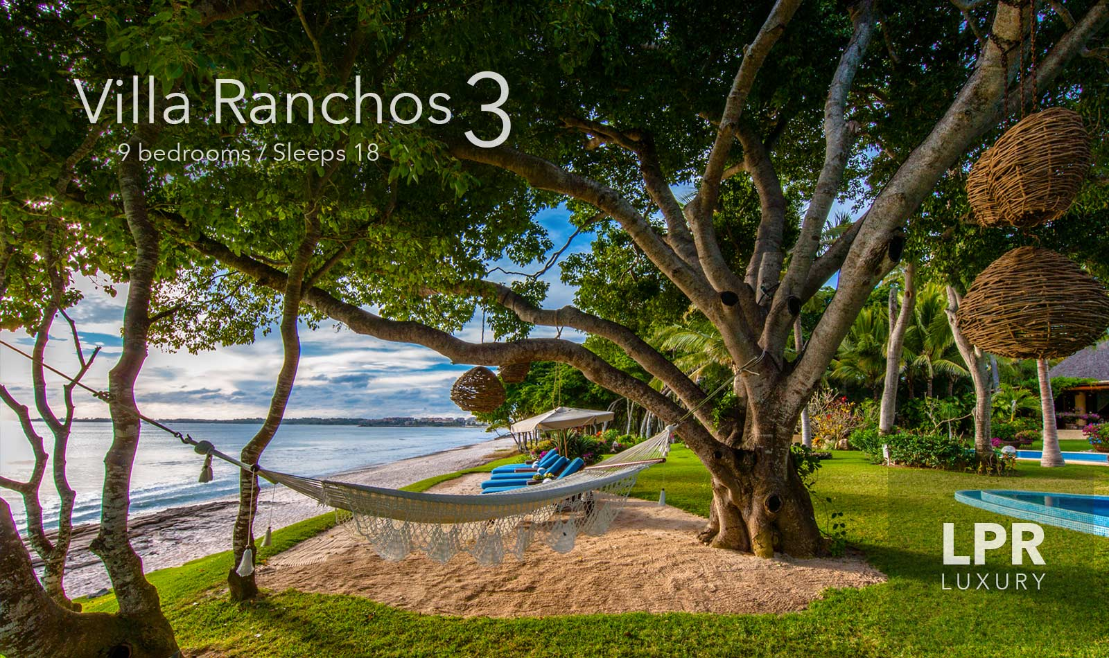 Villa Ranchos 3 - Ultra luxury, ultra private, ultra cool Punta Mita, Mexico. Beachfront vacation rental on Ranchos beach at the exclusive Punta Mita Resort, Riviera Nayarit, Mexico.