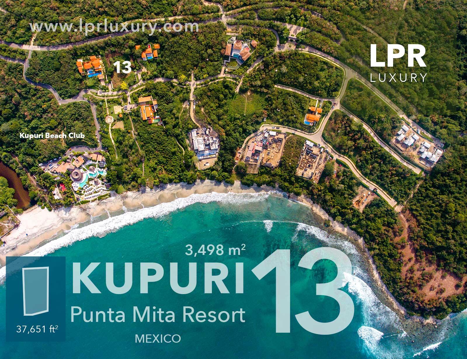Kupuri - Lot 13 at the Punta Mita Resort, Mexico