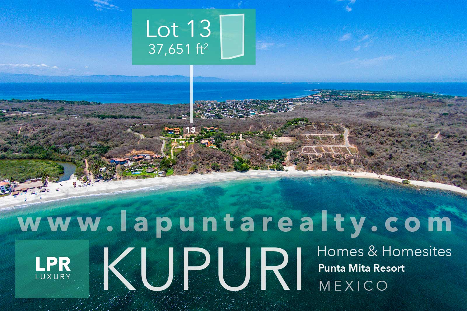 Kupuri Estate lot 13 - Punta Mita Mexico
