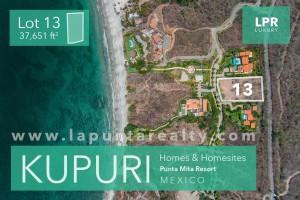 Kupuri Estate lot 13 - Punta Mita Mexico