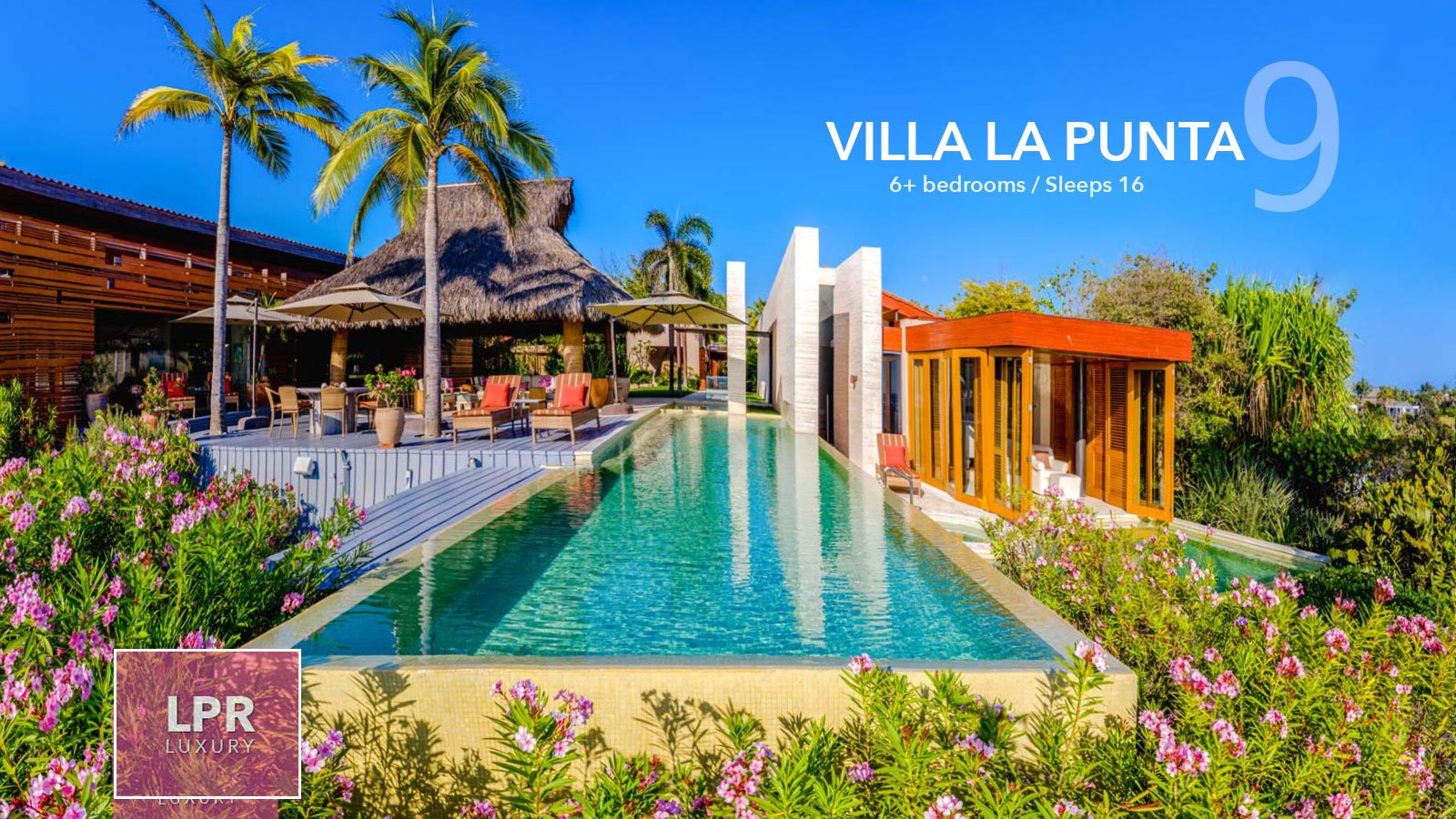 Villa La Punta 9 - Luxury beachfront vacation rental villa at the Punta Mita Resort, Riviera Nayarit, Mexico