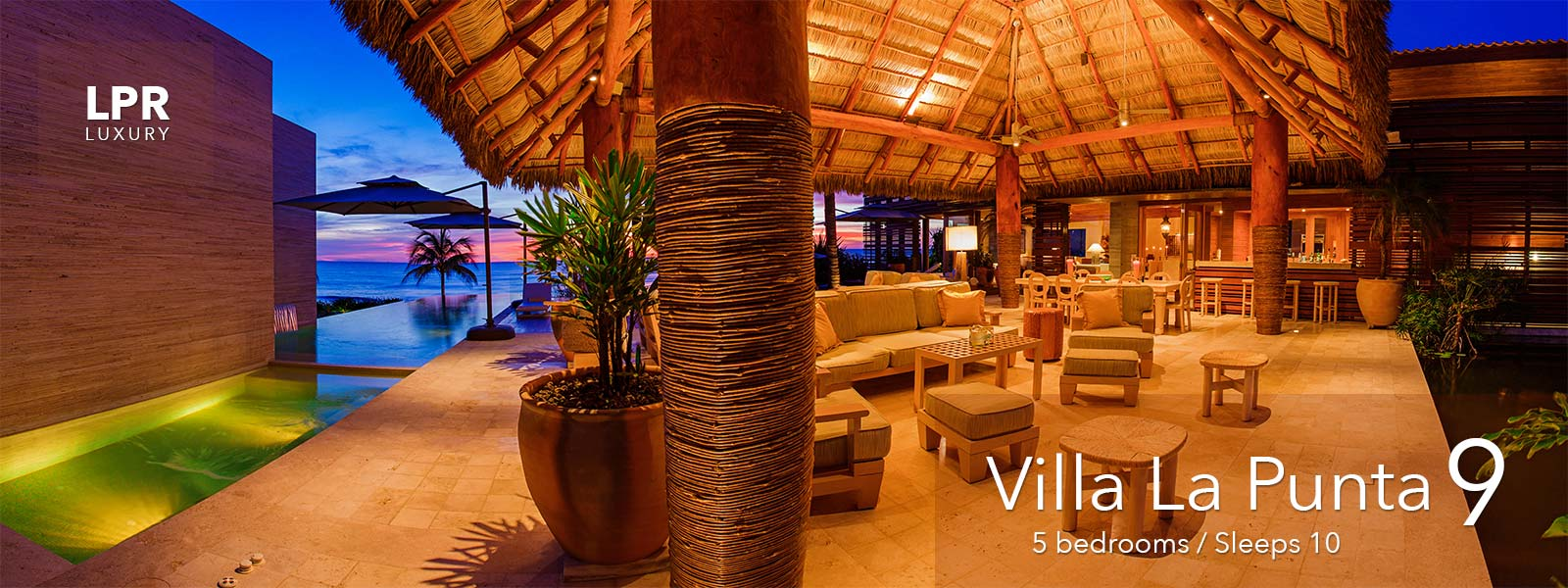 villa la punta 9 - luxury punta mita real estate and vacation rentals