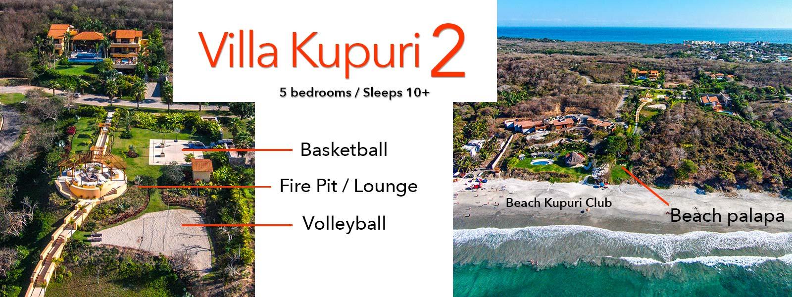 Villa Kupuri 2 - Luxury Vacation Rental Villa at the Punta Mita Resort, Riviera Nayarit, Mexico