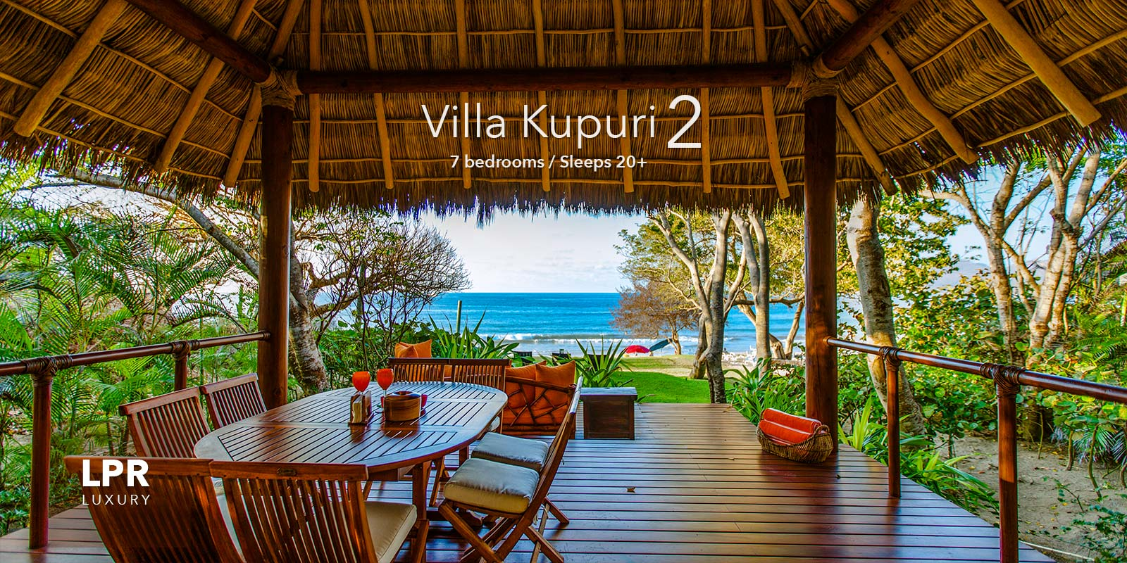 Villa Kupuri 2 - Ultra luxury Punta Mita Resort beachfront vacation rental villa