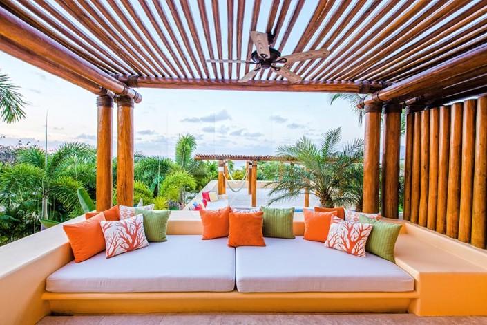 Villa Kupuri 2 - Ultra luxury Punta Mita Resort beachfront vacation rental villa