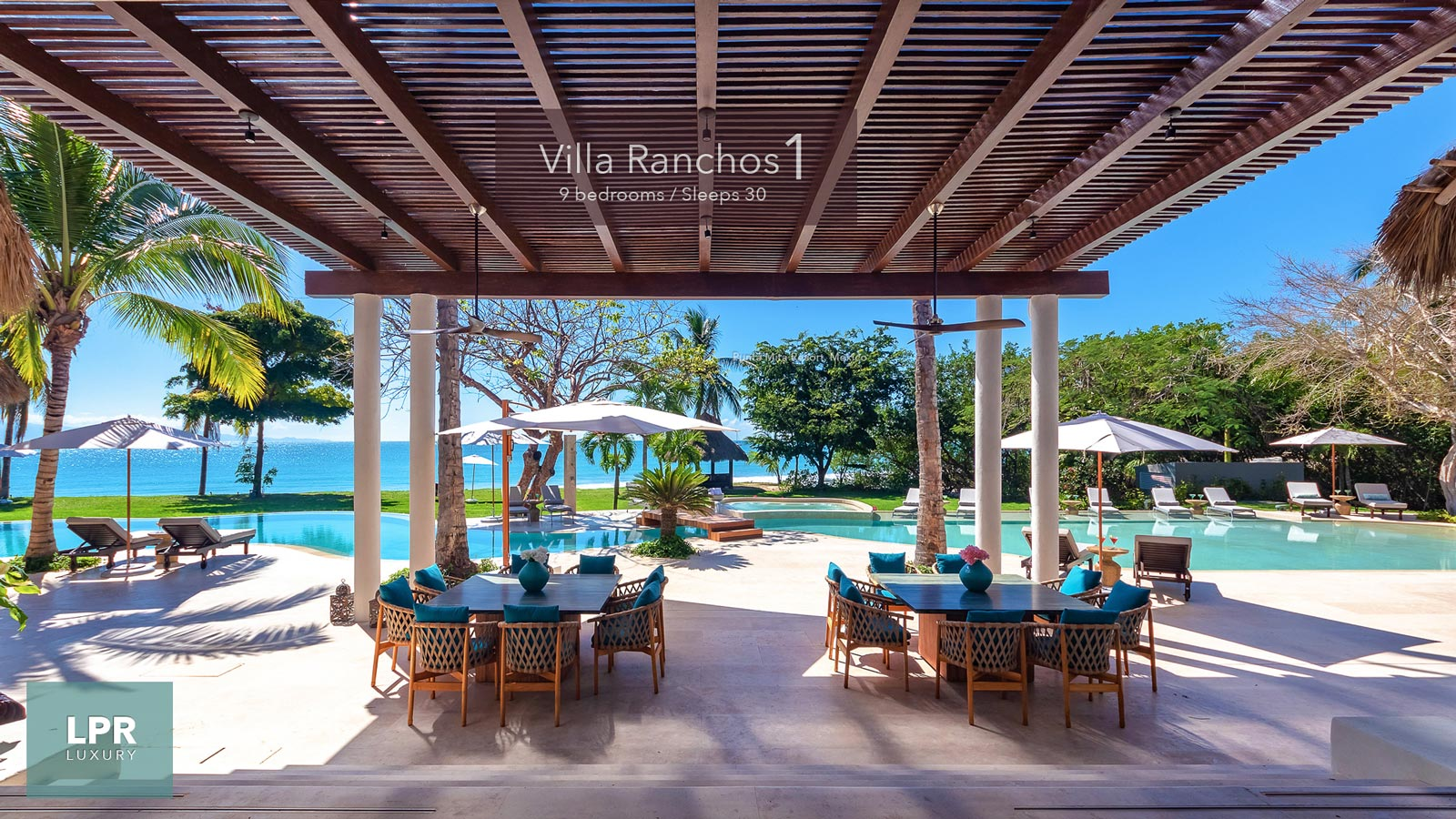Villa Ranchos 1 - Ultra Luxury Vacation Villa Rental at the Punta Mita Resort, Mexico