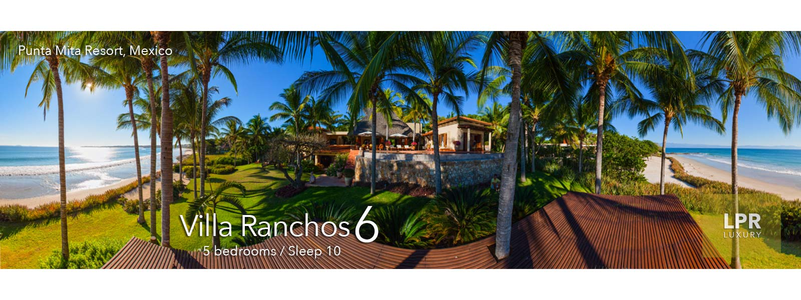 Villa Ranchos 6 at the Punta Mita Resort - Ultra Luxury Punta Mita Vacation Rentals and Real Estate