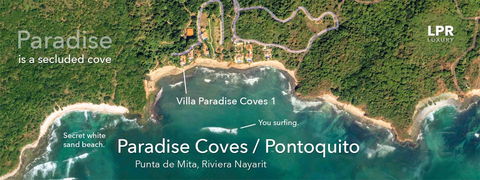 Villa Paradise Coves 1 - Luxury Punta de Mita Real Estate and Vacation Rentals