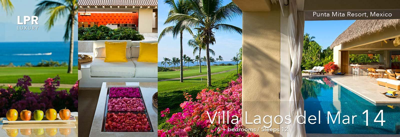 Villa Lagos del Mar 14 - Punta Mita Resort, Mexico - Luxury Vacation Rentals