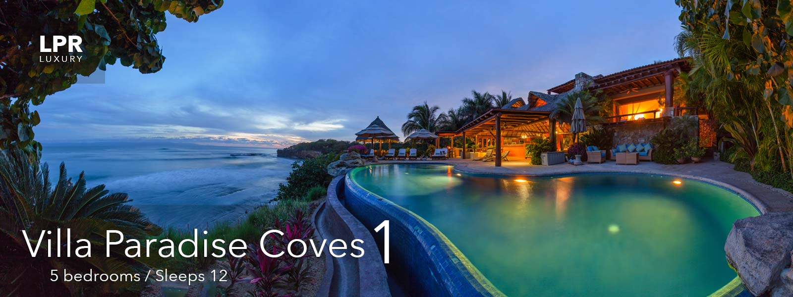 Villa Paradise Coves 1 - Luxury Punta de Mita Real Estate and Vacation Rentals