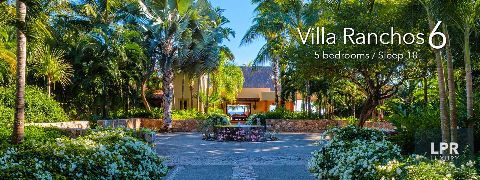 Villa Ranchos 6 - Luxury Punta Mita Resort Vacation Rentals - Riviera Nayarit, Mexico