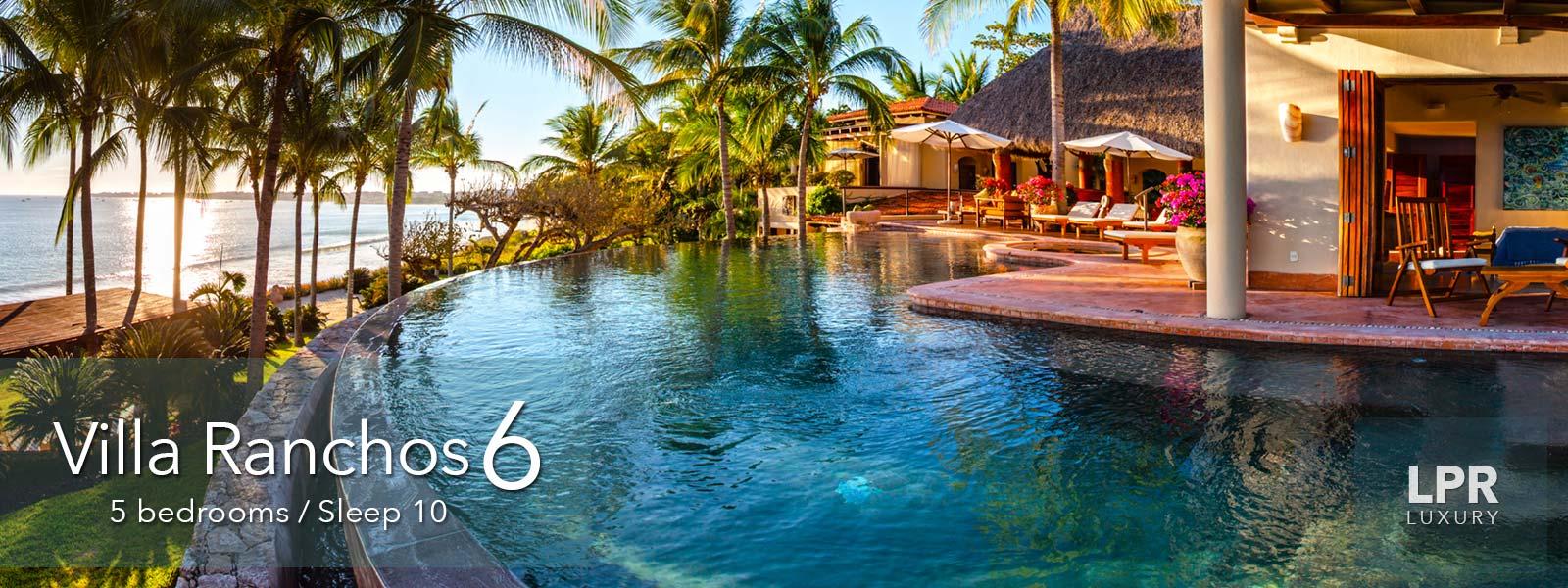 Villa Ranchos 6 at the Punta Mita Resort - Ultra Luxury Punta Mita Vacation Rentals and Real Estate