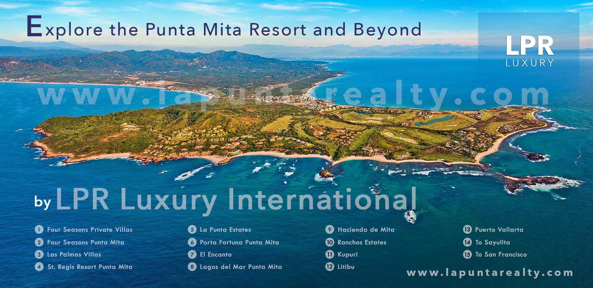 Explore the Punta Mita Four Seasons / St. Regis Resort - Mexico