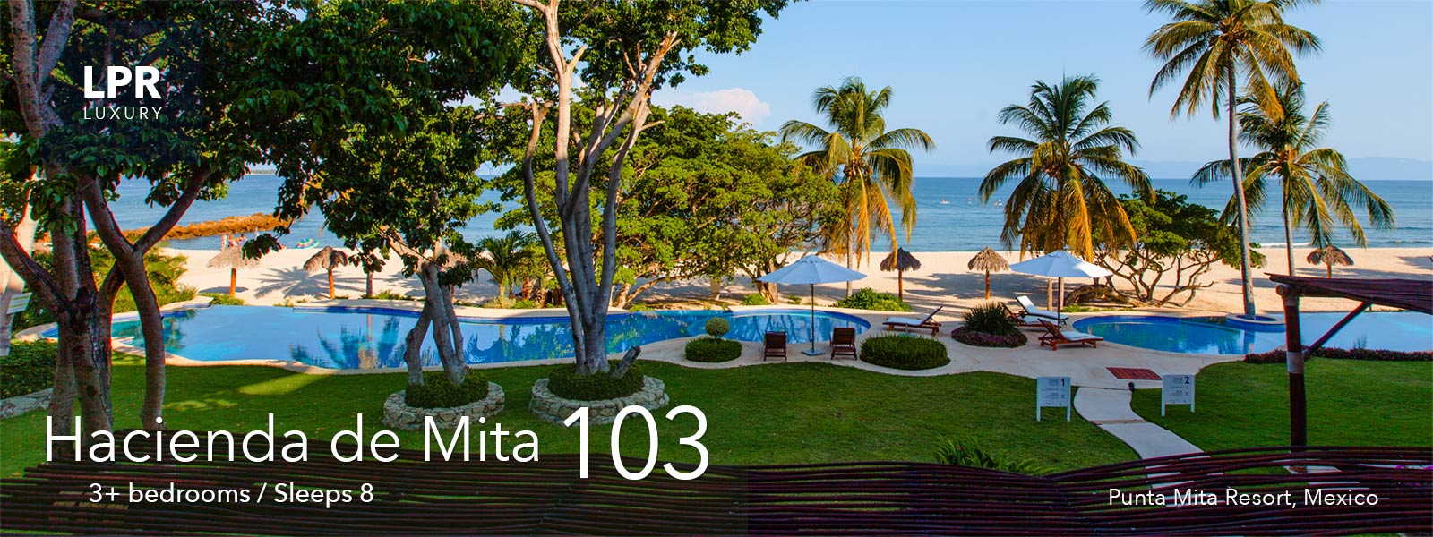 Hacienda de Mita 103 - Luxury Punta Mita Mexico condos for sale and rent