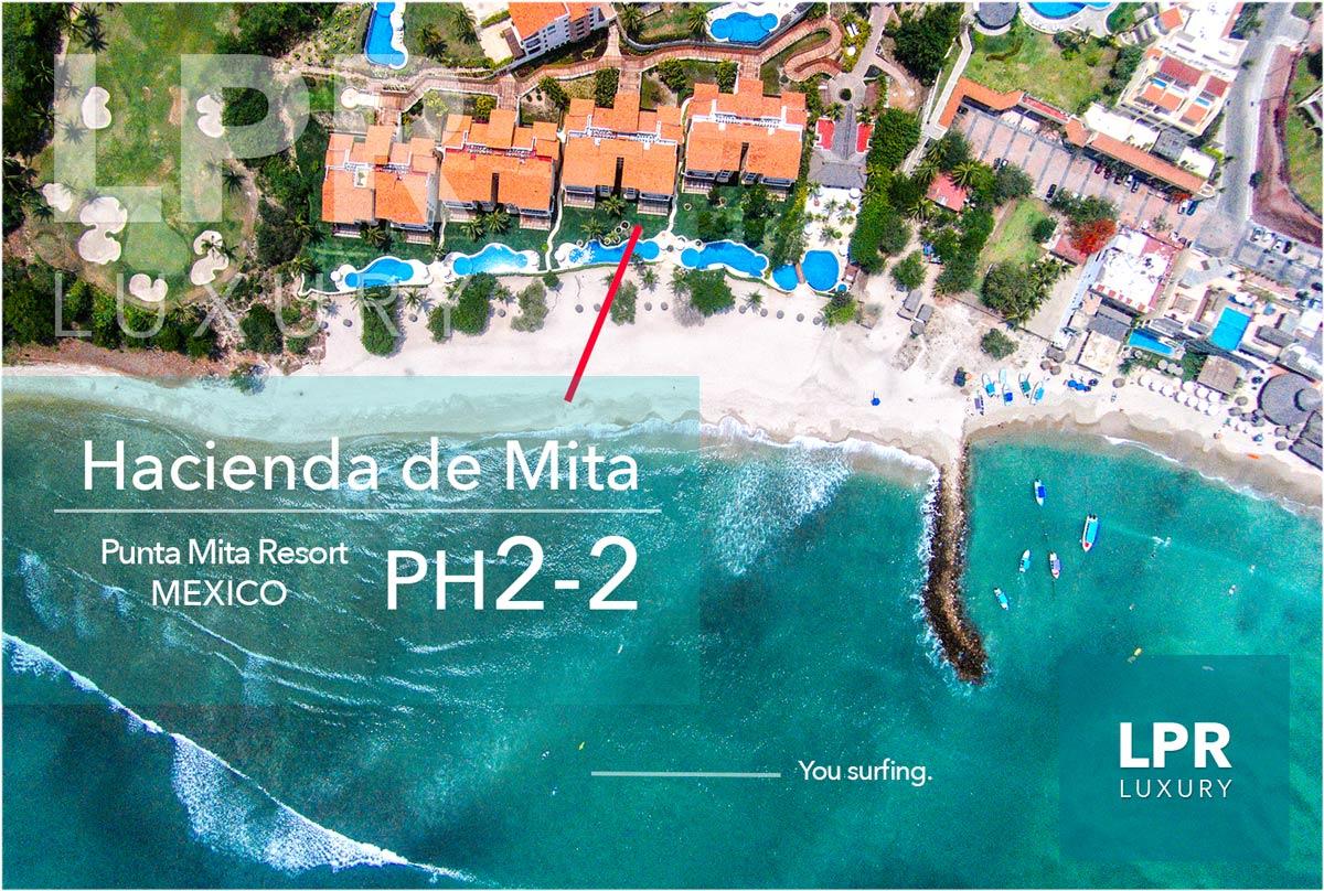 Hacienda de Mita Penthouse 2-2 - Punta Mita Resort - Mexico