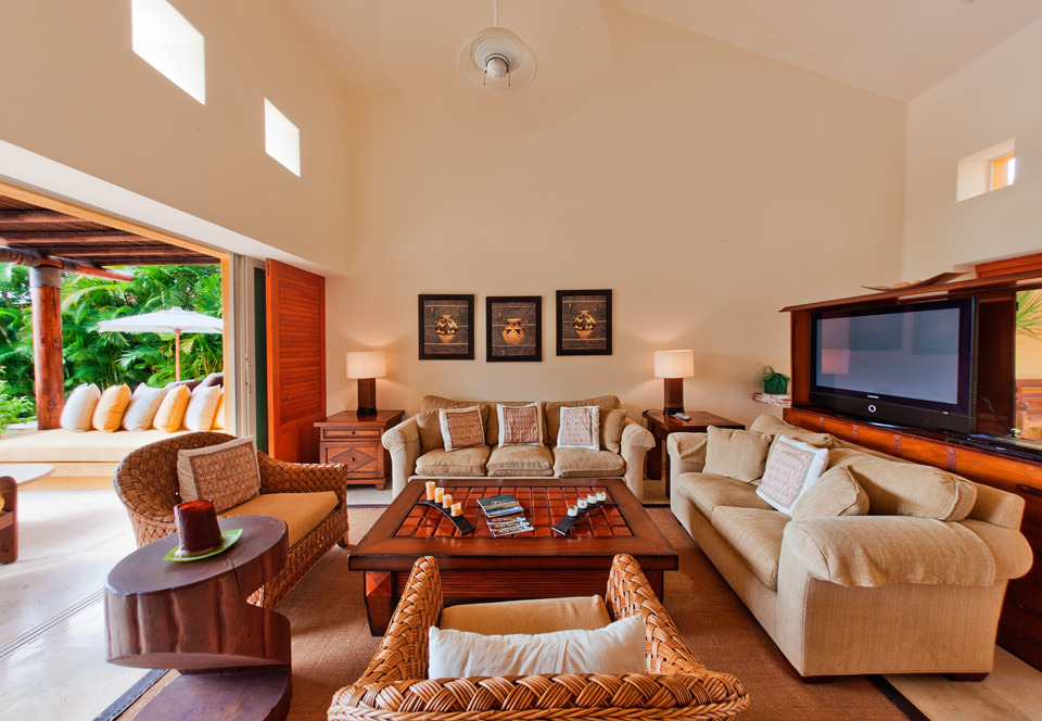 Villa Las Palmas 7 - Punta Mita resort golf course vacation rental villa - Riviera Nayarit, Mexico
