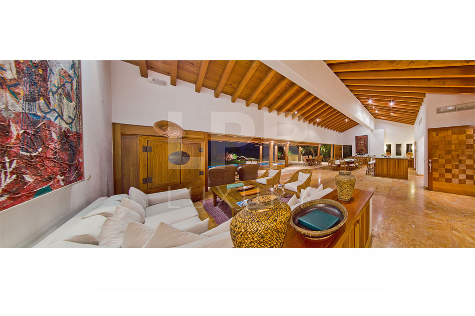 Villa Lagos del Mar 15 - Luxury Vacation Rental Villa on the fairway of the exclusive Punta Mita Resort - For Sale