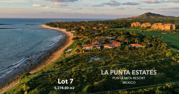 La Punta Estates - Lot 7 - Punta Mita Four Seasons / St. Regis Resort - Mexico