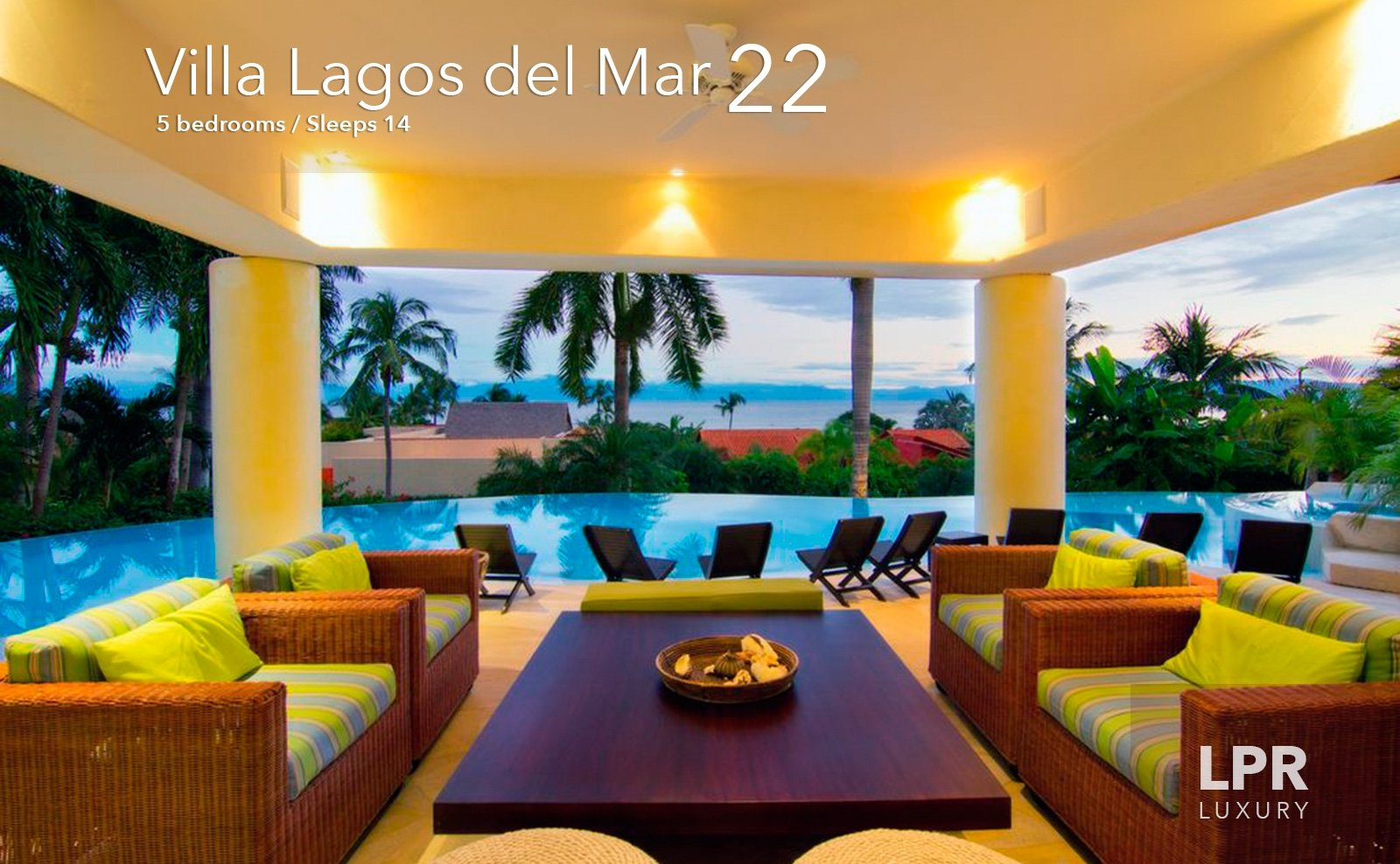 Villa Lagos Del Mar 22 - Luxury real estate and vacation rentals at the Punta Mita Resort, Riviera Nayarit, Mexico