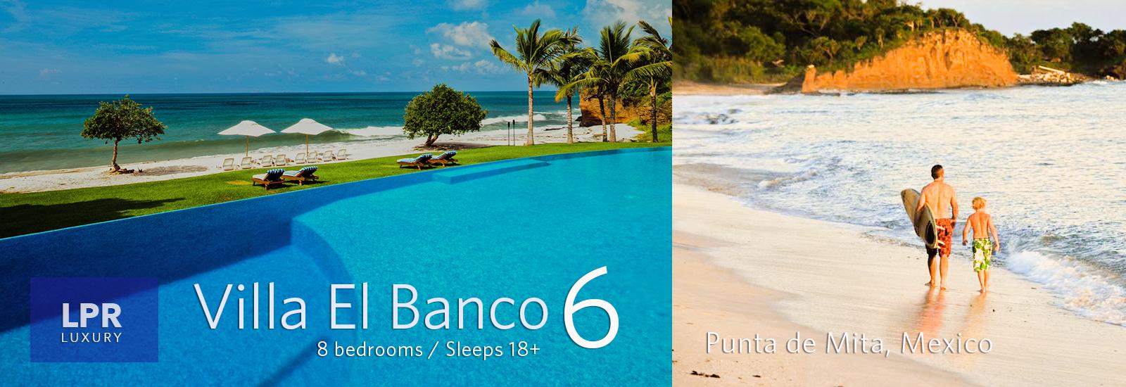 Villa El banco 6 - Luxury Punta de Mita Vacation Rentals - Puerto Vallarta, Mexio