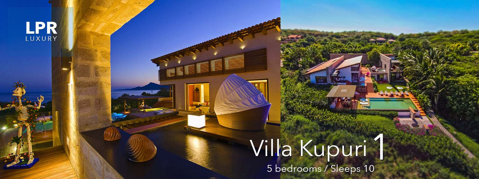 Villa Kupuri 1 - Punta Mita Resort - Mexico Luxury Vacation Rentals and Resort Real Estate