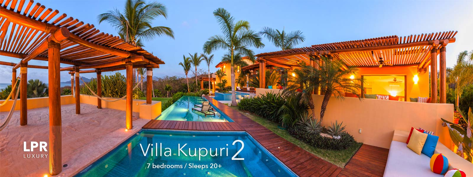 Villa Kupuri 2 - Punta Mita Resort - Mexico Luxury Vacation Rentals and Resort Real Estate