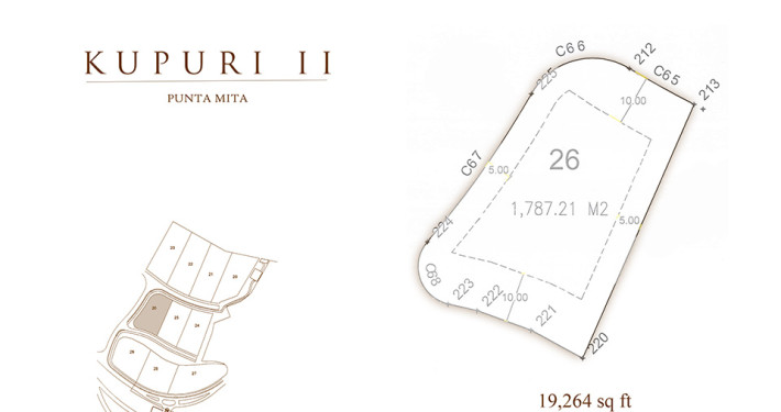 Kupuri - Lot 26 at the Punta Mita Resort, Mexico