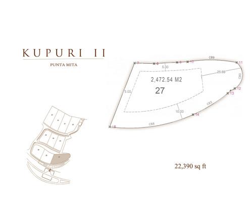 Kupuri - Lot 27 at the Punta Mita Resort, Mexico